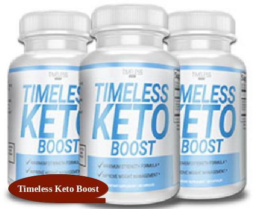 Timeless Keto Boost Diet Supplement
